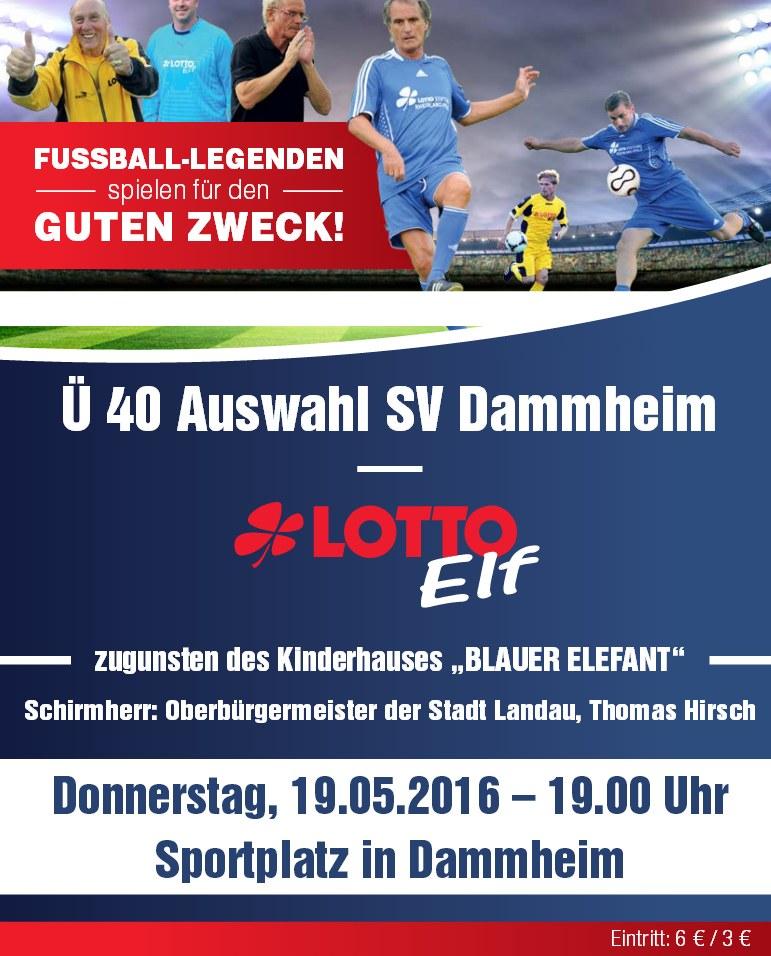 Die Lotto-Elf kommt nach Dammheim