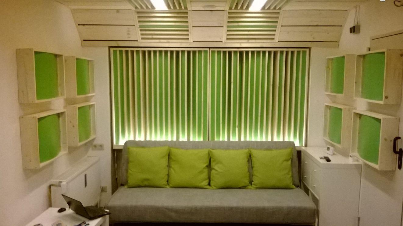 Bürogestaltung beispieleregal selber bauen  Tv Wand Raumteiler Selber Bauen: Datoonz.com = heimkino wand ...